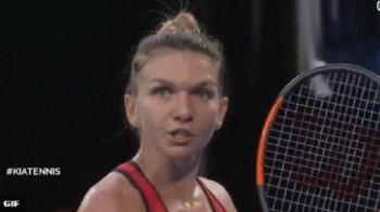 "SIMONA HALEP - CAROLINE WOZNIACKI // ""TAAACI!"" Simona s-a enervat in primul set, dar a trecut peste si a revenit senzational in meci!"