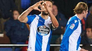 VIDEO: Andone, gol pentru Depor! Final dramatic: au condus cu 2-0 pana in min 80, apoi au fost egalati! Deportivo, pe loc de retrogradare