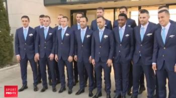 Eleganta si stil! Romanii pot primi de acum premiul pentru cea mai bine imbracata nationala de la Europeanul de futsal! Toate meciurile de la EURO sunt la ProX