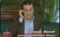 VIDEO: Ziua in care Gigi Becali l-a sunat pe Copos sa il intrebe de ce a cumparat arbitrii la un Steaua - Rapid :)