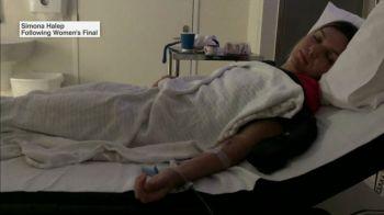 BREAKING NEWS   Simona Halep a ajuns de urgenta la spital azi-noapte si a fost pusa pe perfuzii! Ce a patit