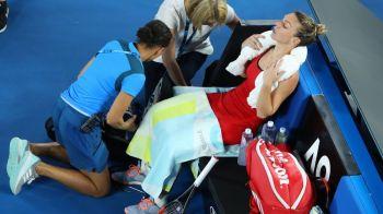 SIMONA HALEP LA SPITAL // Reactia de ultima ora a organizatorilor de la Australian Open, dupa ce Simona a ajuns la perfuzii