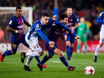 S-a bucurat in felul lui de fotbal: un jucator a dat un gol si doua autogoluri azi in La Liga :)