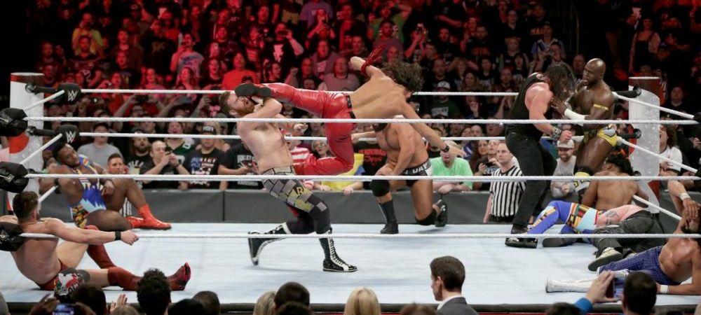 SOC pentru toti fanii wrestlingului! Nimeni nu se astepta la asa ceva! Cine a aparut in ring azi-noapte la Royal Rumble! VIDEO