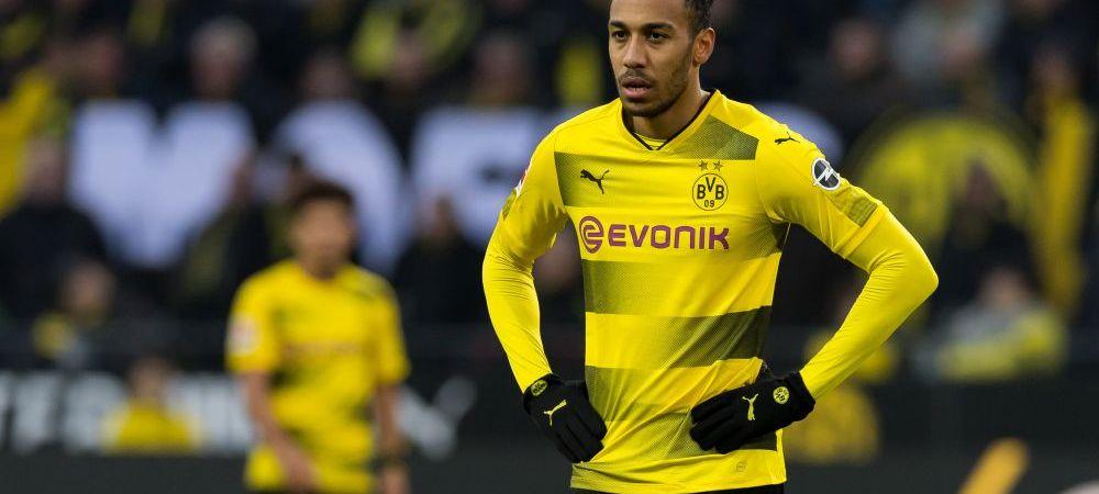 ULTIMA ORA | Ultimul mare transfer al acestei ierni! Borussia Dortmund l-a vandut pe Aubameyang in Premier League cu 60 de milioane de euro