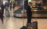 """""""Tanara modesta care isi asteapta bagajul"""" Imaginea care face RAVAGII pe retelele de socializare! Cum a fost surprinsa Simona"""