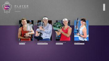 SIMONA HALEP // ULTIMA ORA: Simona Halep, nominalizata de WTA la titlul de jucatoarea lunii ianuarie. Cele trei jucatoare cu care se lupta