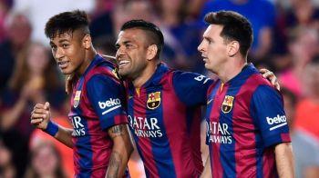 Sa joci cu Messi nu e asa usor precum pare! Dani Alves, dezvaluiri in premiera despre plecarea sa si a lui Neymar