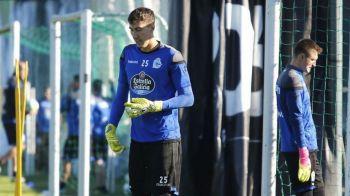 OFICIAL! Costel Pantilimon a PLECAT de la Deportivo! Unde a ajuns dupa despartirea de spanioli
