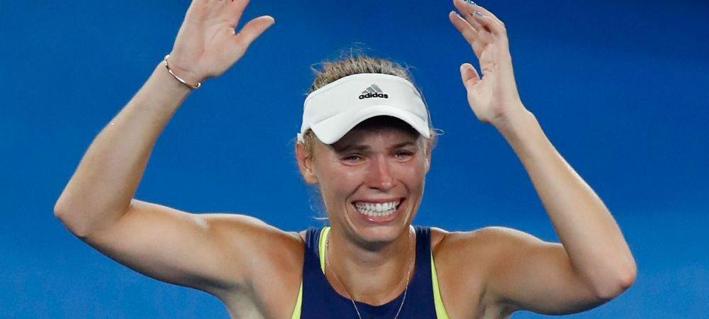 """Ce a facut Wozniacki la primul meci dupa finala de la AO. Daneza, in cursa pentru cat mai multe puncte WTA, dupa un zvon bomba: """"E gravida in 8 saptamani"""""""