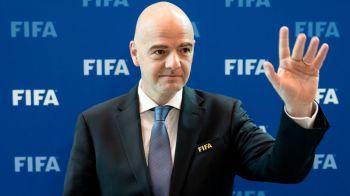 "Seful FIFA le-a pus gand rau impresarilor milionari din fotbal: ""Se scot prea multi bani din circuitul fotbalistic"". Ce spune Infantino"