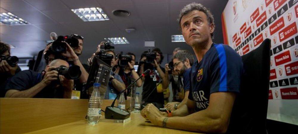 Luis Enrique, aproape de revenirea in fotbal! Se va duela direct cu Barcelona daca va accepta oferta de ULTIMA ORA!