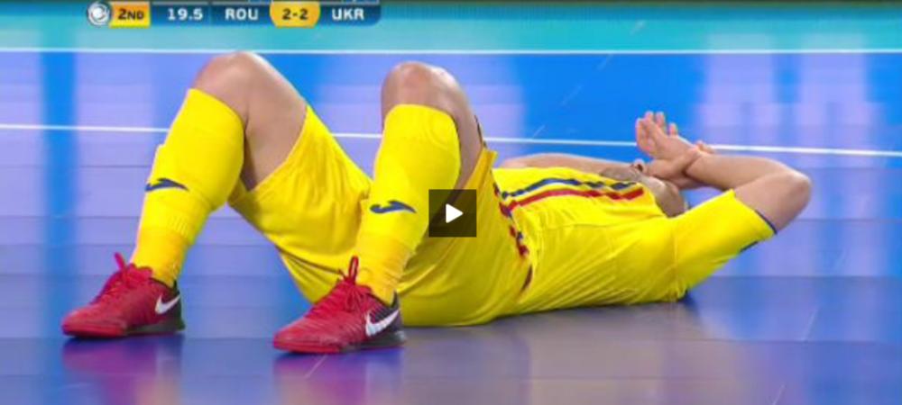 NU SE POATEEEE! Am pierdut calificarea cu 19 secunde inainte de final! Infrangere DRAMATICA pentru Romania cu Ucraina