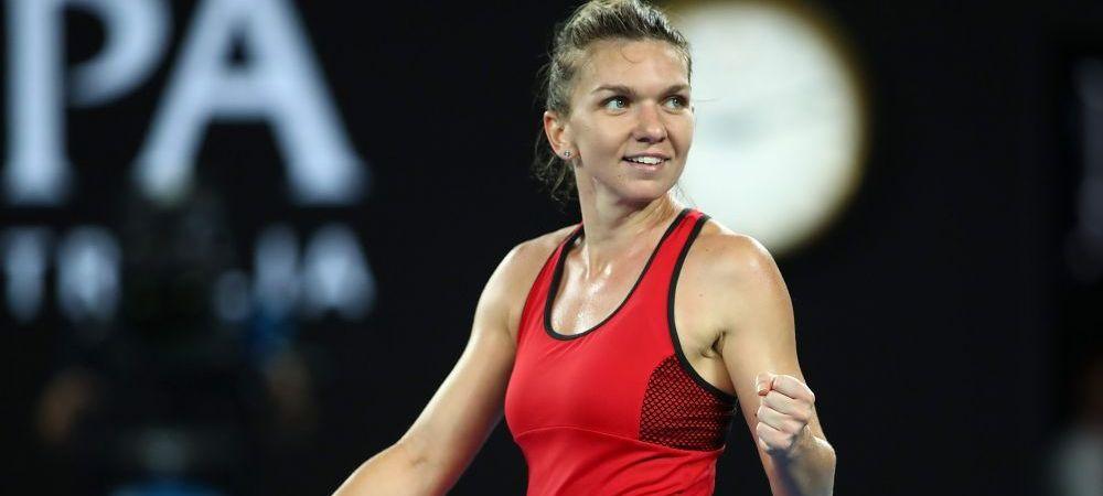 HALEP, JUCATOAREA LUNII IANUARIE // Victorie ZDROBITOARE pentru Simona in sondajul WTA! A batut-o pe Wozniacki