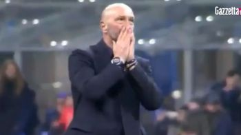 Imagini incredibile! Walter Zenga a izbucnit in lacrimi dupa cea mai ciudata seara din cariera! Cum au reactionat fanii dupa ce a incurcat-o pe Inter! VIDEO