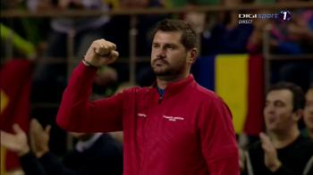 Romania a distrus-o pe Luxemburg in Cupa Davis in ultima zi! Adversarii au castigat doar 3 game-uri in 2 meciuri