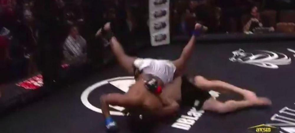 Luptatorul care s-a facut singur KO // Cea mai amuzanta infrangere din MMA! A rezolvat partida in 2 minute! VIDEO