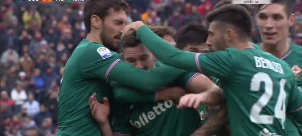 Doua goluri DIRECT din corner in acelasi meci, la 3 minute distanta! FANTASTIC: cum s-a marcat in Bologna - Fiorentina
