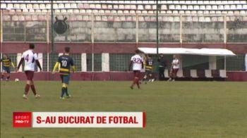 """Rapidistii, amical de Liga 1 in Giulesti! """"Pentru unii dintre noi e prima oara cand suntem in Bucuresti"""""""