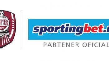 (P) Sportingbet intra in echipa partenerilor echipei CFR Cluj