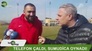VIDEO Sumudica a DANSAT la antrenament! Telefonul unui ziarist a dat tonul! Imaginile momentului in Turcia