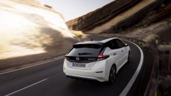 TEST Superspeed cu Giurgea si Bratu: cum se conduce electrica Nissan cu autonomie de 415 km in oras