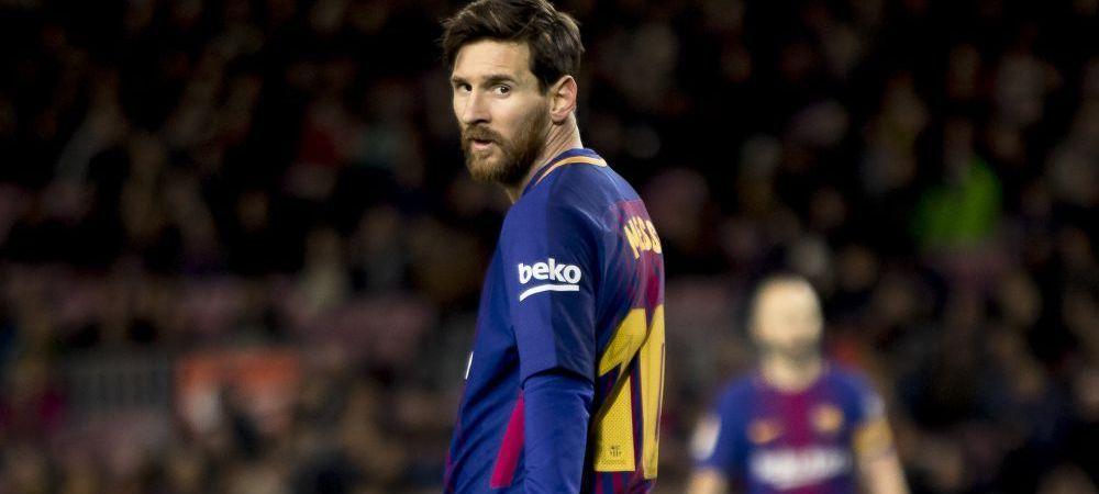 """""""A refuzat un salariu de 100 de milioane de euro pe an!"""" Cine a vrut sa-l ia pe Messi de la Barcelona inainte sa semneze noul contract"""
