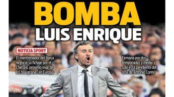 """BOMBA Luis Enrique!"" Anunt de ultima ora: un club MILIARDAR il cheama in Premier League"