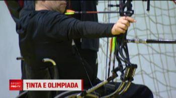 """Campionul Romaniei la tir cu arcul e in scaun cu rotile! """"Vreau sa particip la JO 2020!"""" VIDEO"""
