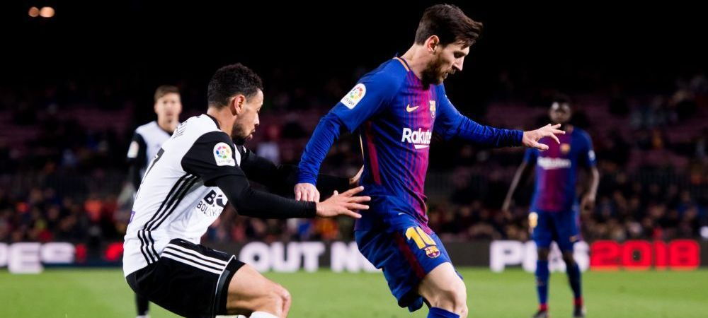 VALENCIA 0-2 FC BARCELONA LIVE TEXT // Coutinho, primul gol pentru catalani! Barca, in FINALA Cupei cu Sevilla