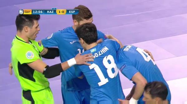 Spania 0-1 Kazahstan - gol Taynan
