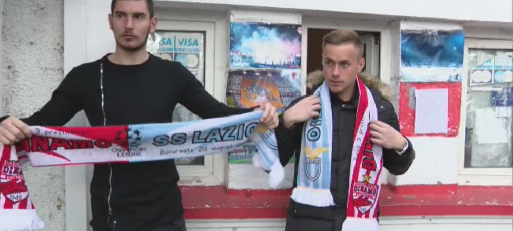 RAZBOI TOTAL! Dinamovistii sunt cu Lazio la meciul de joi! Reactia lui Dica dupa ce a vazut OPERATIUNEA FULARUL de la Dinamo