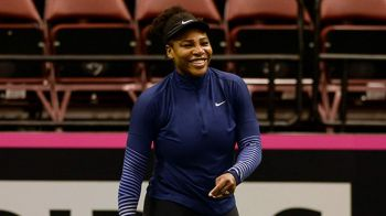 """Priviti cine s-a intors!"" Cum arata Serena la revenirea pe teren! Va juca alaturi de sora ei in FED Cup. VIDEO"