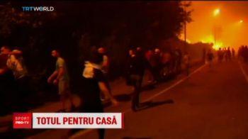 Incendiile l-au alungat din tara! Un portughez joaca la Otelul pentru a-si ajuta familia sa isi ridice o noua casa
