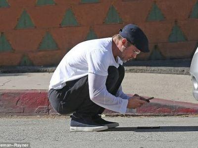 FOTO | Brad Pitt, implicat intr-un accident cu trei masini in Los Angeles! Reactia starului de la Hollywood
