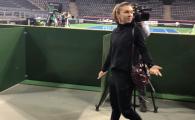 FOTO EMOTIONANT | Gestul facut de Simona Halep inainte de meciul Soranei Cirstea cu Zhao! Halep a anuntat ca merge la Doha