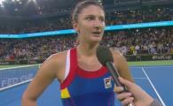 """Sa ma iertati ca v-am tinut atat!"" Reactia curioasa a Irinei Begu dupa victoria de 2-0 pentru Romania"
