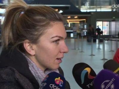 ULTIMA ORA | Decizia luata de Simona Halep imediat dupa meciurile de la Fed Cup: ajunge la Bucuresti in aceasta seara