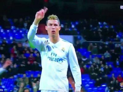 Gest de mare CAPITAN! Cum a reactionat Cristiano Ronaldo in momentul in care fanii au inceput sa-l fluiere pe unul dintre colegii sai, la meciul cu Sociedad