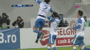 Craiova, all-in pentru titlu! Oltenii, la 6 puncte de lider dupa 1-0 cu Sepsi! Super gol marcat de Gustavo VIDEO AICI