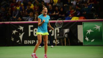 CE VICTORIEEEE! Monica Niculescu o invinge pe Sharapova la Doha: romanca a pierdut primul set, dar a revenit incredibil! Buzarnescu 7-5; 6-4 Tsurenko, in primul tur la Doha