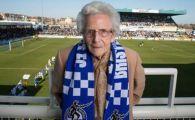 """Povestea fabuloasa a femeii care nu a ratat niciun meci de acasa al echipei sale de 70 de ani! """"Fotbalul de acum se invarte prea mult in jurul banilor"""""""