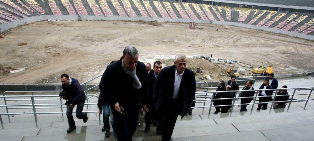 """Fisuri in beton, infiltratii de apa, placi deplasate!"" Gabriel Chirea, despre problemele descoperite la National Arena"