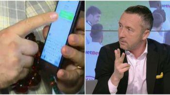 """""""Da de Kane nu mai zic astia ca simuleaza!"""" Mesajul pe care capitanul Stelei i l-a dat lui Mihai Stoica in timpul meciului Juve - Tottenham. Conversatia celor doi"""