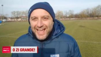 """Ciaooo, Grandeee!"" Moment genial cu Devis Mangia! Italianul i-a urat ""La multi ani"" lui Gica Craioveanu: VIDEO"