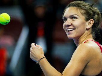 Simona a facut PUNCTUL TURNEULUI cu mingea care a inchis meciul impotriva Sevastovei. VIDEO: Lovitura geniala