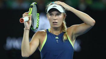 ULTIMA ORA | Prima reactie a Carolinei Wozniacki dupa momentul urat din timpul meciului cu Monica Niculescu