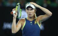 ULTIMA ORA   Prima reactie a Carolinei Wozniacki dupa momentul urat din timpul meciului cu Monica Niculescu