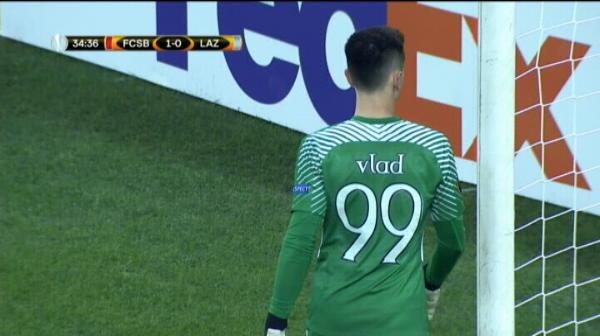 Parada Vlad Steaua 1-0 Lazio