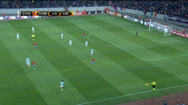 Ratare Tanase Steaua 1-0 Lazio